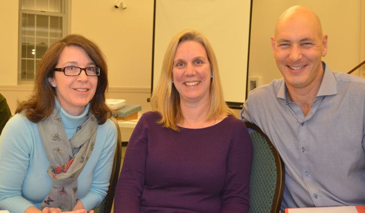 Allocations chairs: Ann Sgarzi, Amy Capofreddi, and Wade Rubinstein