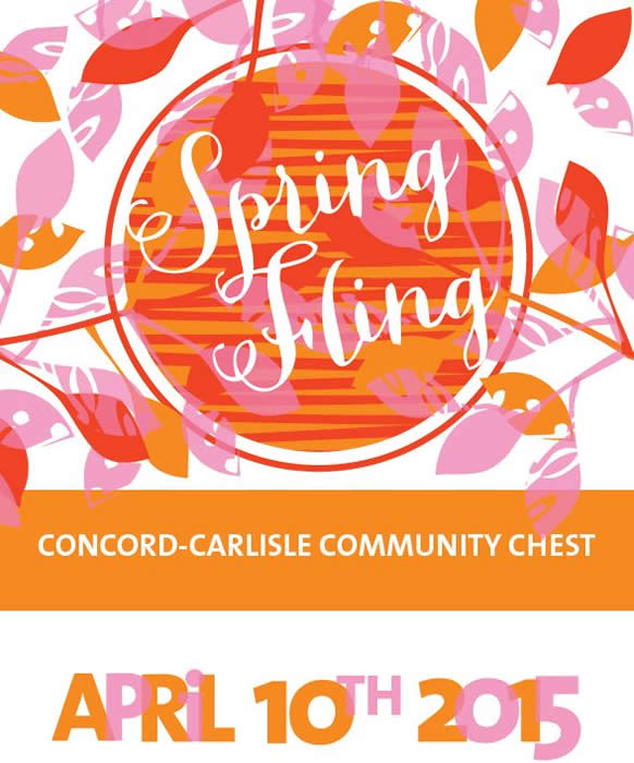 Concord-Carlisle Community Chest Spring Fling!