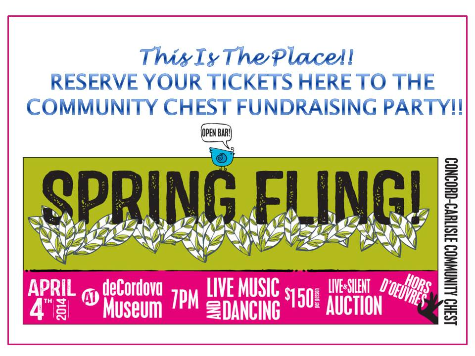 Community Chest To Host Fundraising Party (2014)
