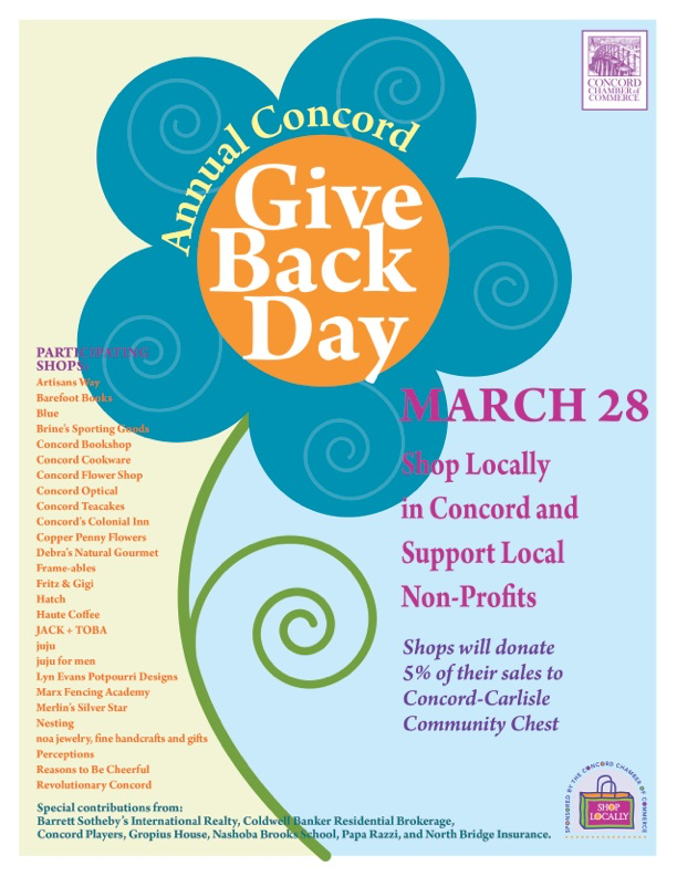 'Give Back Day' Benefits Concord Nonprofits