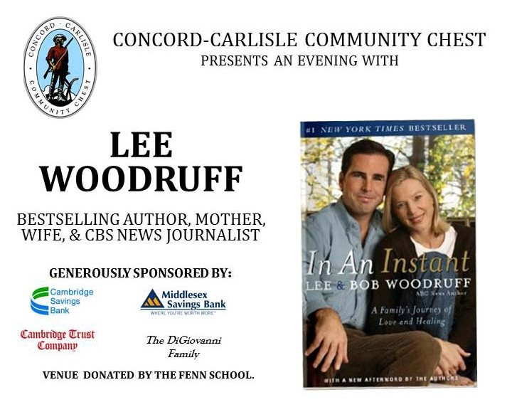 Author Lee Woodruff Speaker Event