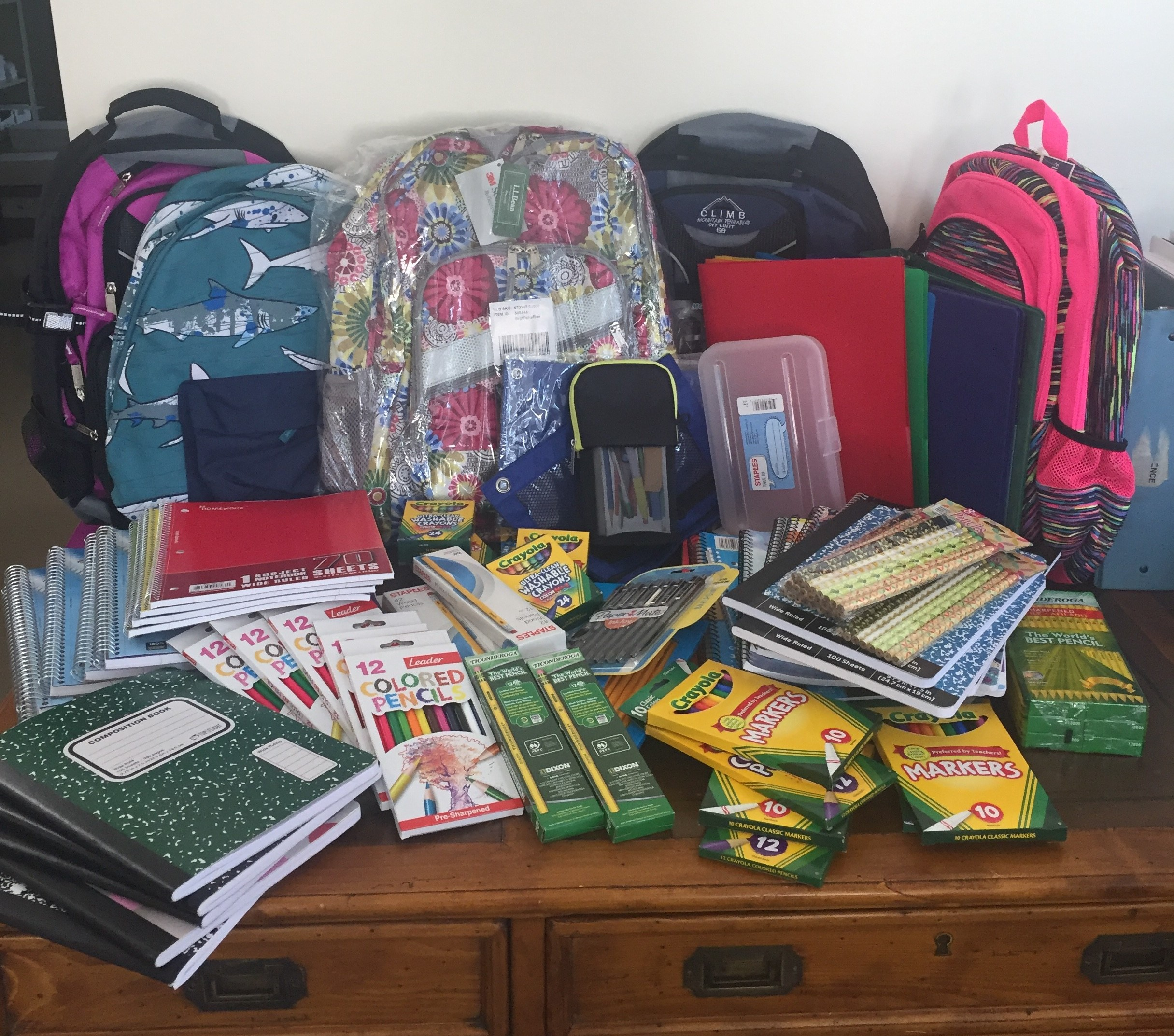 Back To School Donations